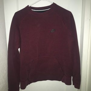 Red bike sweater